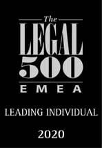 Legal 500 EMEA Leading Individual
