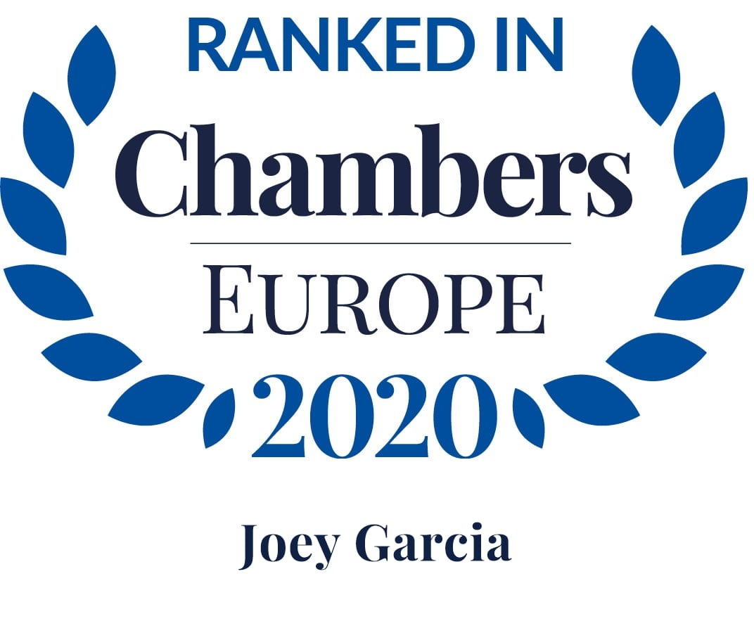 Ranked in Chambers Europe 2020