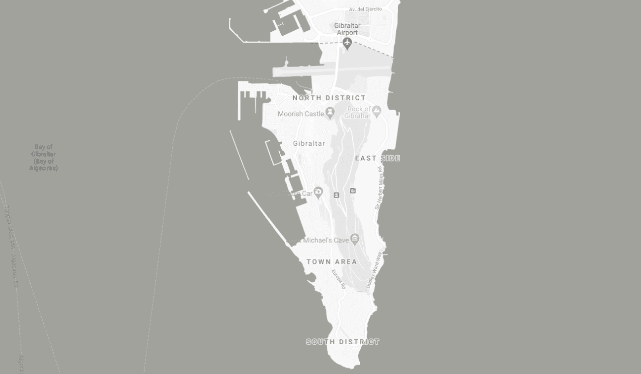 Map of ISOLAS office in Gibraltar