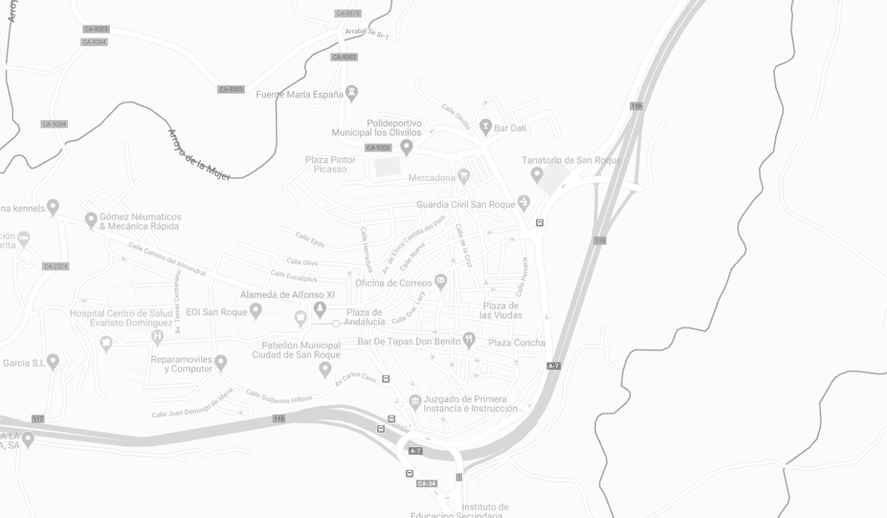 Map of ISOLAS office in Spain